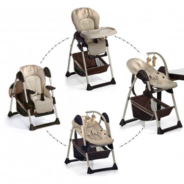 sit n relax 0m+ to 9m high chair - zoo